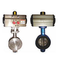 Jekon Make Actuator Butterfly Valves