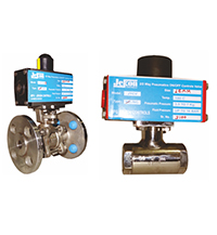 Jekon Make Pneumatic Actuator Ball Valves