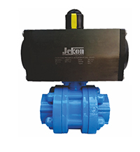 Jekon Make Pneumatic Actuator P.P. Ball Valves